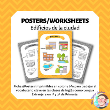 [POSTER][WORKSHEET] Buildings vocabulary - years 1 & 2