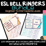 ESL Bundle: Bell Ringers and Writing Prompts Journals