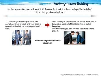 ESL Business English Class - Essential Business Etiquette