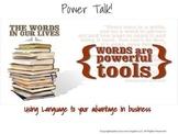 ESL Business English Class- Power Talk: Using Language to Your Advantage