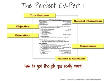 ESL Business English Class- The Perfect CV: How to Get the