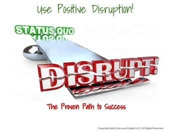 ESL Business English Class - Use Positive Disruption: The