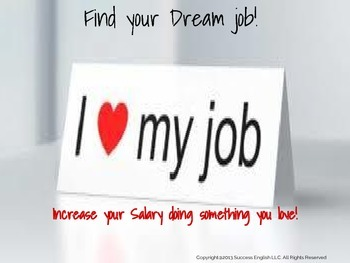 Esl Business English Class Find Your Dream Job Tpt