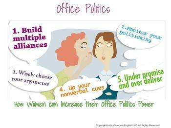 ESL Business English Class for Women- Office Politics