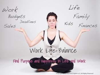 ESL Business English Class for Women- Work Life Balance