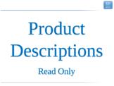 1.2 - ESL Business English Lesson - Product Descriptions R