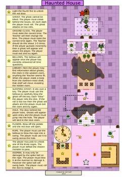 ESL Castle Games - Haunted House