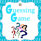 ESL Hot Seat Categories Guessing Game - Great as Time Filler!