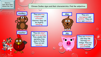 ESL Chinese New Year full lesson for beginners/pre-intermediate