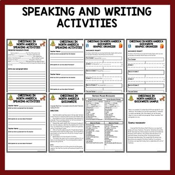 ESL Reading Activities: ESL Christmas