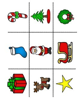 ESL Christmas Flashcards & Game Boards