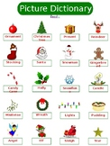 ESL Christmas Vocabulary Packet