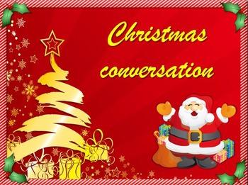 ESL Christmas conversation