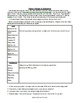 ESL Class Discussion Worksheet Demo Package