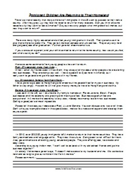 ESL Class Discussion Worksheet Package 4