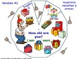 ESL Class.  How old are you? / ¿Cuántos años tienes?