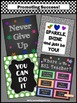 ESL Teacher Classroom Decor Door Sign Motivational Quote Posters