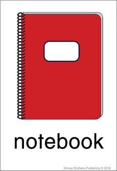 Classroom Vocabulary Flash Cards
