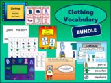 ESL Clothing Vocabulary BUNDLE
