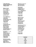 "ESL Cloze Song Activity- ""I Hung My Head"" by Johnny Cash"