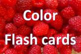 ESL Color Flash Cards - VIPKID level 2