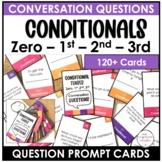 ESL - Conditionals Conversation Cards for Speaking (Zero,