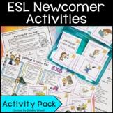 ESL Back to School Activities