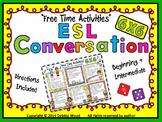 "ESL Conversation Activity:  ""Free Time Activities"""