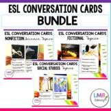 ESL Conversation Cards-Bundle