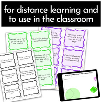 ESL Activities: Conversation Cards for Speaking Practice {Conditionals}