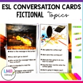 ESL Conversation Cards-Fictional Topics