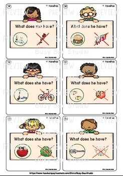 Subject Verb Agreement (have-has)