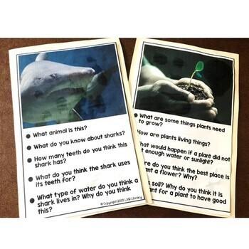 ESL Conversation Cards-Nonfiction, Science Topics