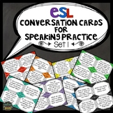 ESL Activities: Conversation Cards for Speaking Practice