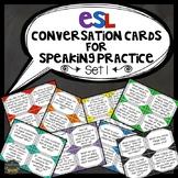 ESL Activities: Conversation Cards for Speaking Practice