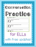 ESL Conversation Practice - NO PREP - Free updates with new topics!