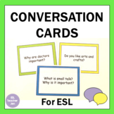 ESL Conversation Questions Pack