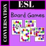 ESL Conversation / Speaking Activity Board Games Pack (Spe