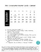 ESL Conversation Starter Cards:  Calendar and Colors