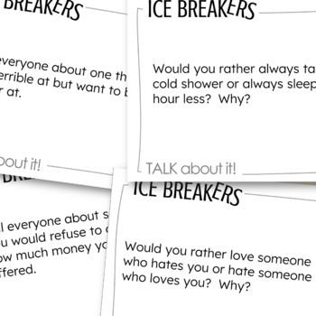 ESL Ice Breakers