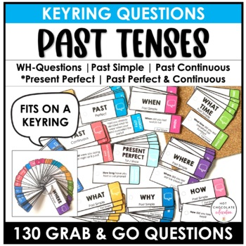 ESL Questions - Past Tenses- Past Simple, Past Perfect, Past Continuous