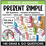 ESL Elementary Question Cards: WH Questions - Simple Prese