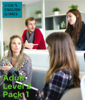 ESL Conversation cards for adults - Level 2, Pack 1