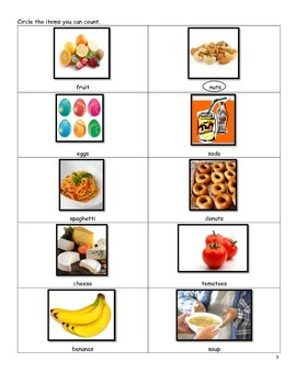ESL Count and Non-count Nouns