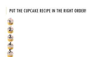ESL Cupcake Recipe Lesson!