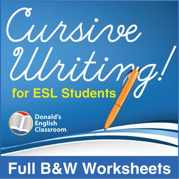 ESL Cursive Writing!-Full Textbook