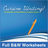 ESL Cursive Writing!-Full Textbook