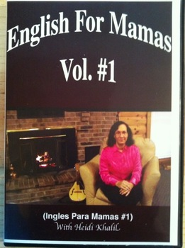 ESL  DVD: ENGLISH  FOR  MAMAS  VOL. #1