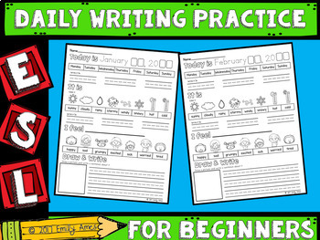 ESL Daily Writing Practice - Beginners
