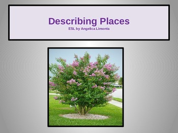 English: Describing Places
